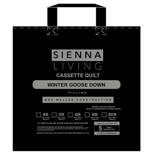 Sienna Living 80% Goose Down 20% Goose Feather Quilt - Manchester Factory (4966970621996)