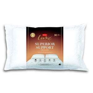 Tontine Luxe Superior Comfort High FIrm Pillow 2 Pack - Manchester Factory
