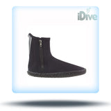 Akona dive bootie 3mm zipper view