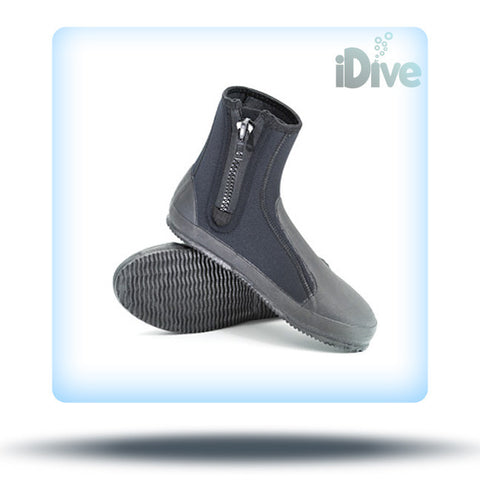 XS Scuba 6mm Deluxe Zippered Boots