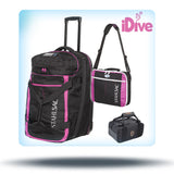 stahlsac luggage package pink