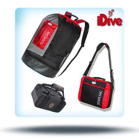 dive bag luggage starter set