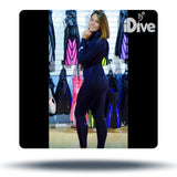 Nixie - Full Wetsuit - Black/Purple