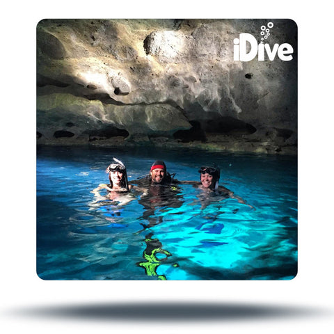 diving in devils den