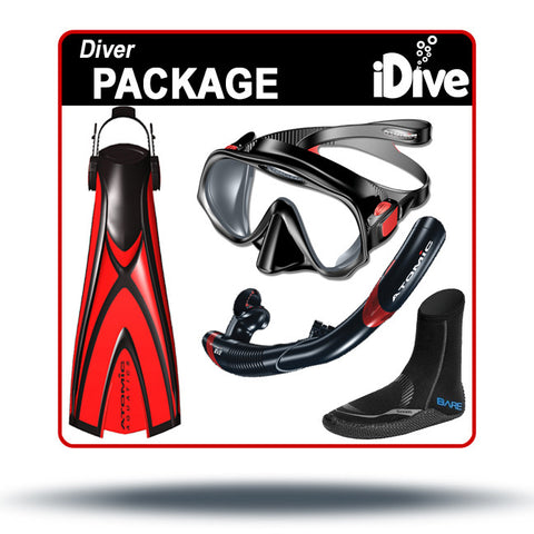 Diver Package - Starter Skin Gear for Scuba Courses