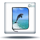 3-Ring Dolphin Log Book Binder
