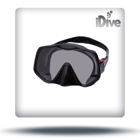 Frameless 2 mask black