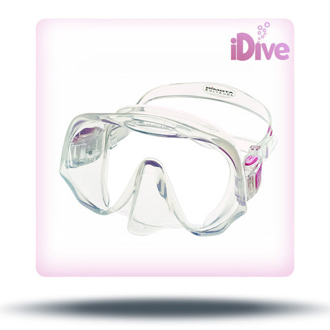 Atomic Aquatics Frameless Mask - Clear