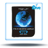 3-Ring Divers World Log Book Binder