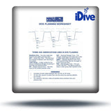 NAUI Dive Table Card - Air