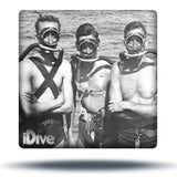 Old fashioned dive mask
