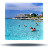 paradise reef beach at cozumel