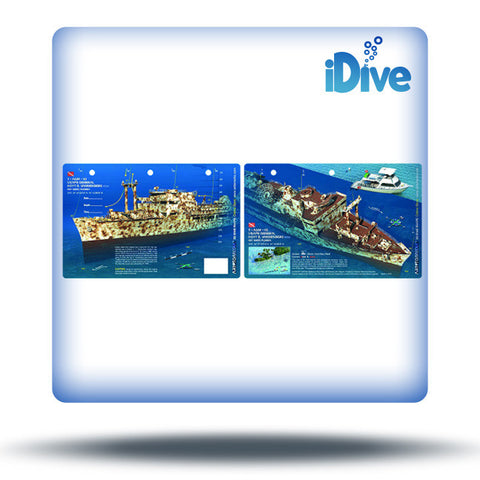 3D dive site map slates