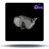 Atomic Aquatics Frameless Mask - Black