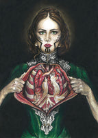 Signed Ltd. Edition Print | Self Dissection