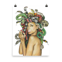 medusa poster of medusa artwork, beautiful medusa wall art, main image