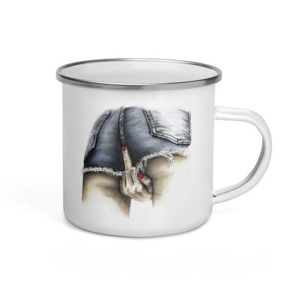 Enamel Mug | Put a Bird On It