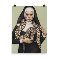 Nun the Wiser Poster