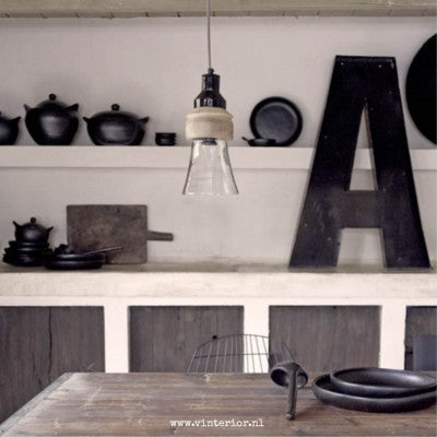 This week in the picture at Vinterior… Black Pottery