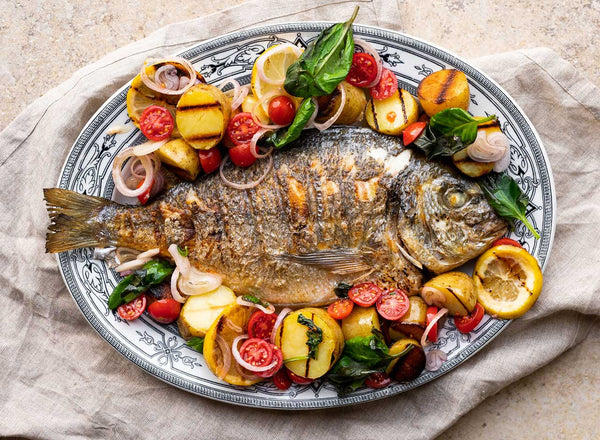 Sea Bream Whole (600-800g)
