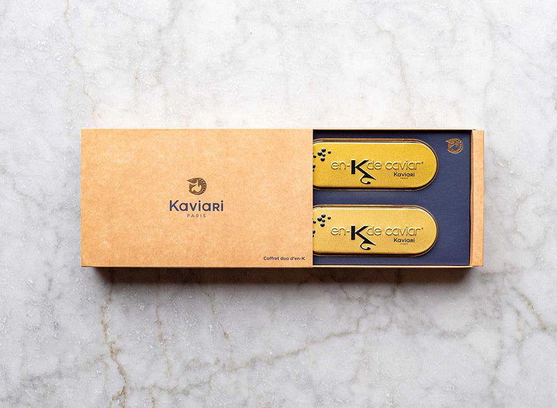 En-K Caviar Gift Box By Kaviari Paris (2 x 15g)