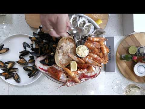 Fruits de Mer - Shellfish Platter Box