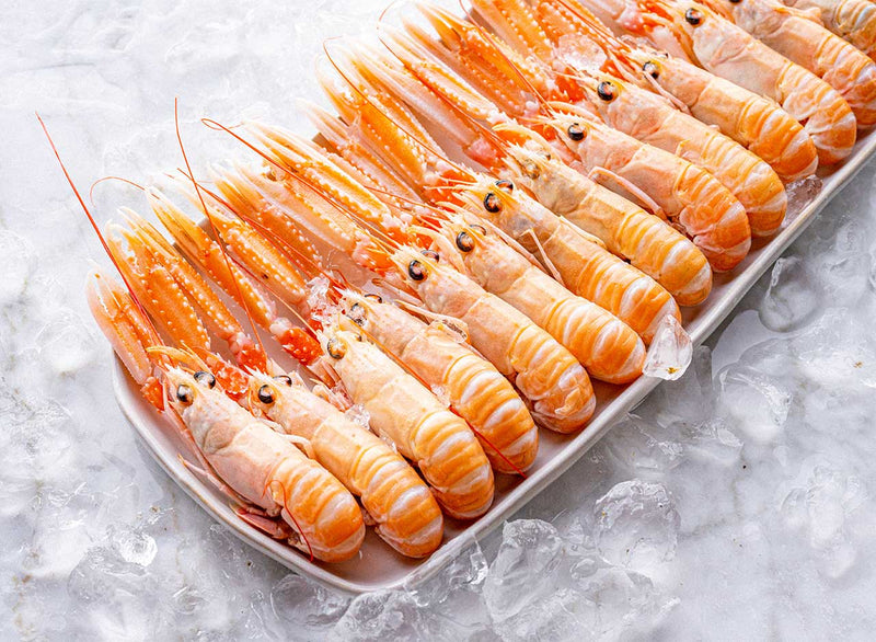 Raw, Scottish Langoustines (Frozen, 1kg)