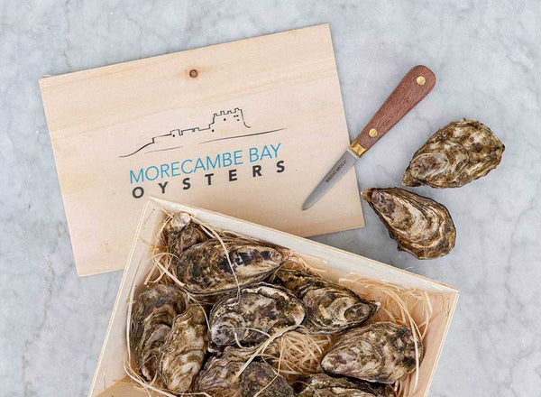 Fresh Morecambe Bay Oysters (One Dozen)
