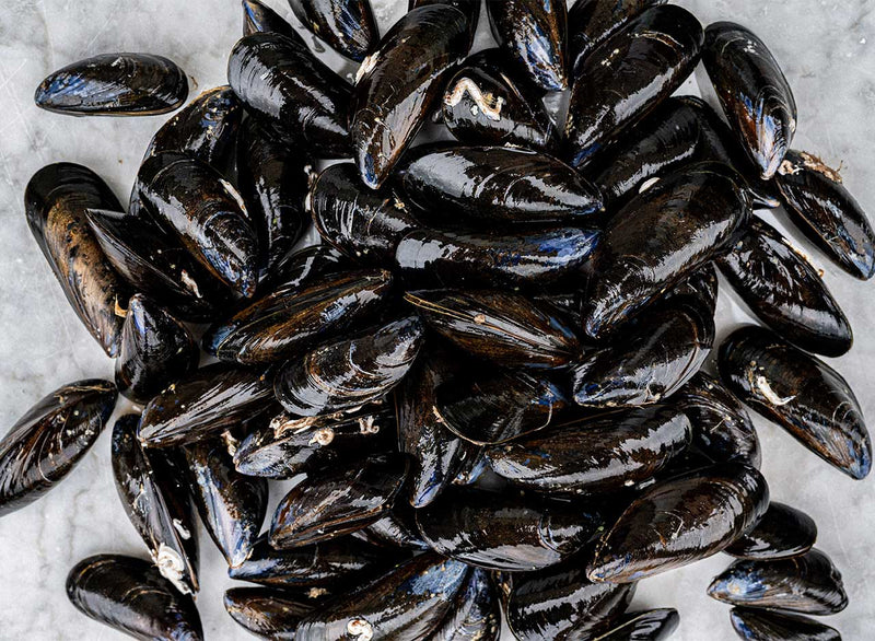 Cornish Rope Grown Mussels