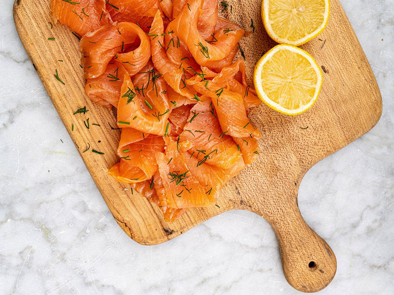 Smoked Salmon Long Cut