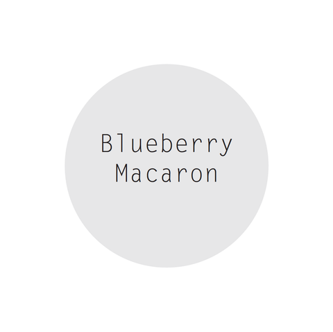 SALE - Blueberry Macaron Perfumed Soy Candle