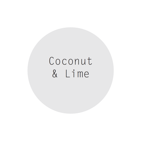 Coconut & Lime Petite Perfumed Soy Candle