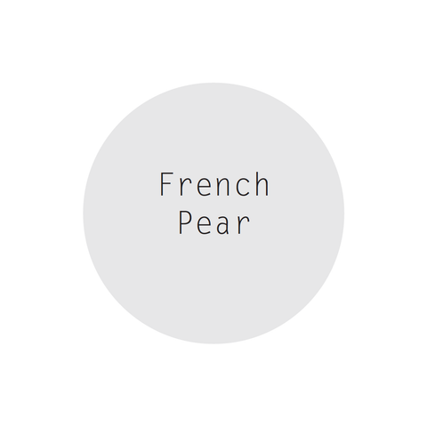 French Pear Perfumed Soy Candle