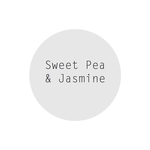 Sweet Pea & Jasmine Perfumed Soy Candle in Rose