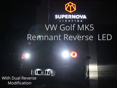 DIY: VW Golf Mk5 Dual Reverse Light