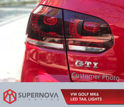 Mk6 LED Tail Lights Installation