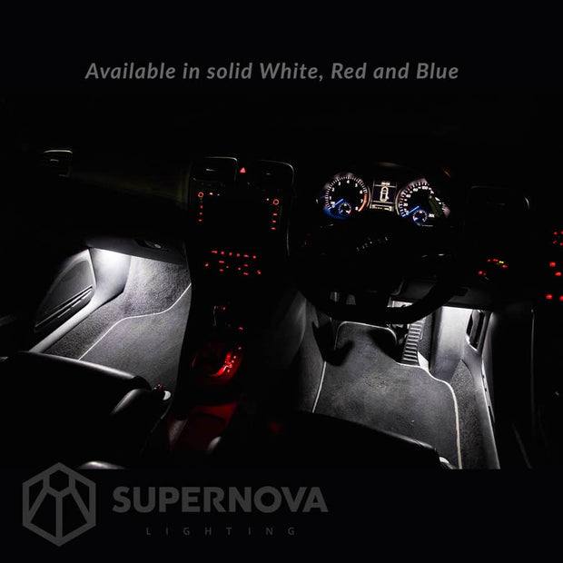 white-footwell-led