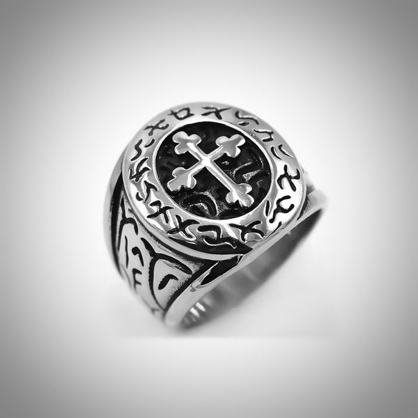 Biker Cross Ring