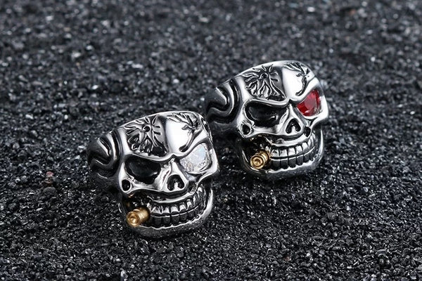 Smokin' Skull Ring