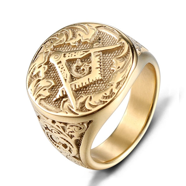 Freemason Signet Ring