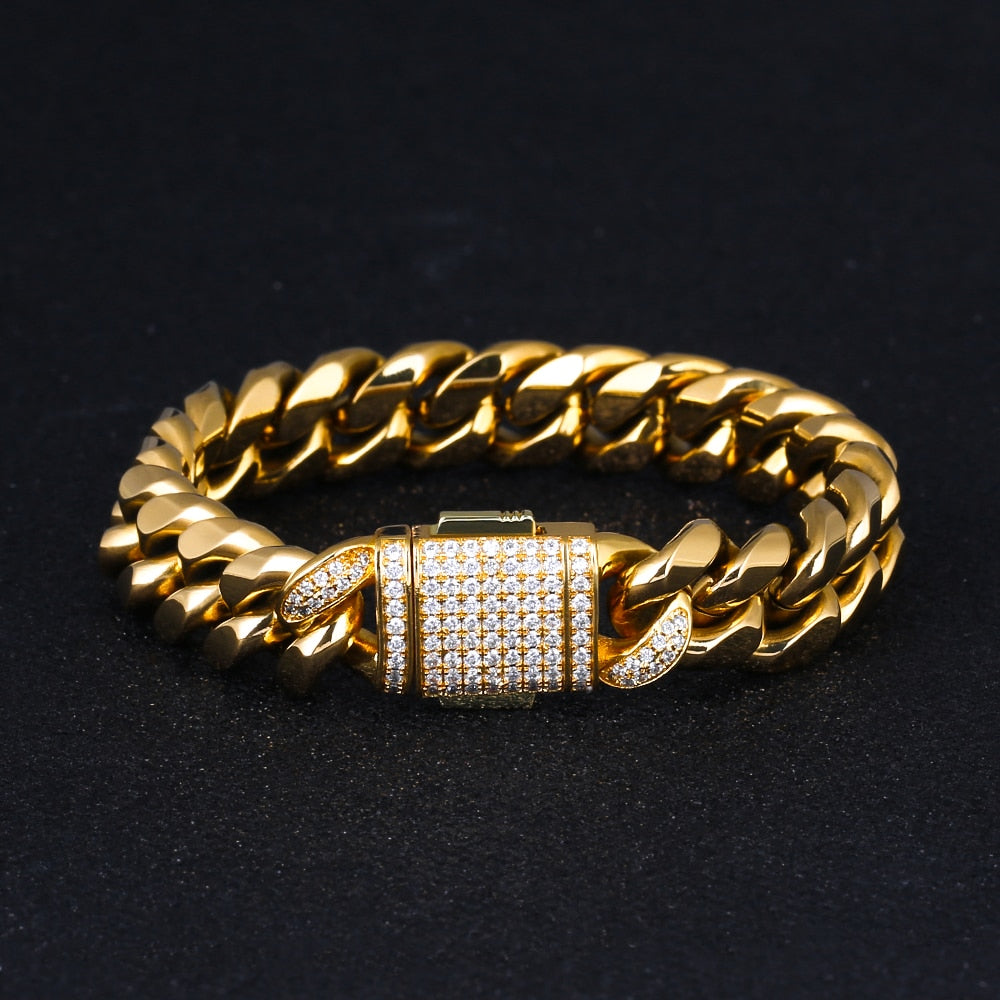 Miami Cuban Buckle Bracelet