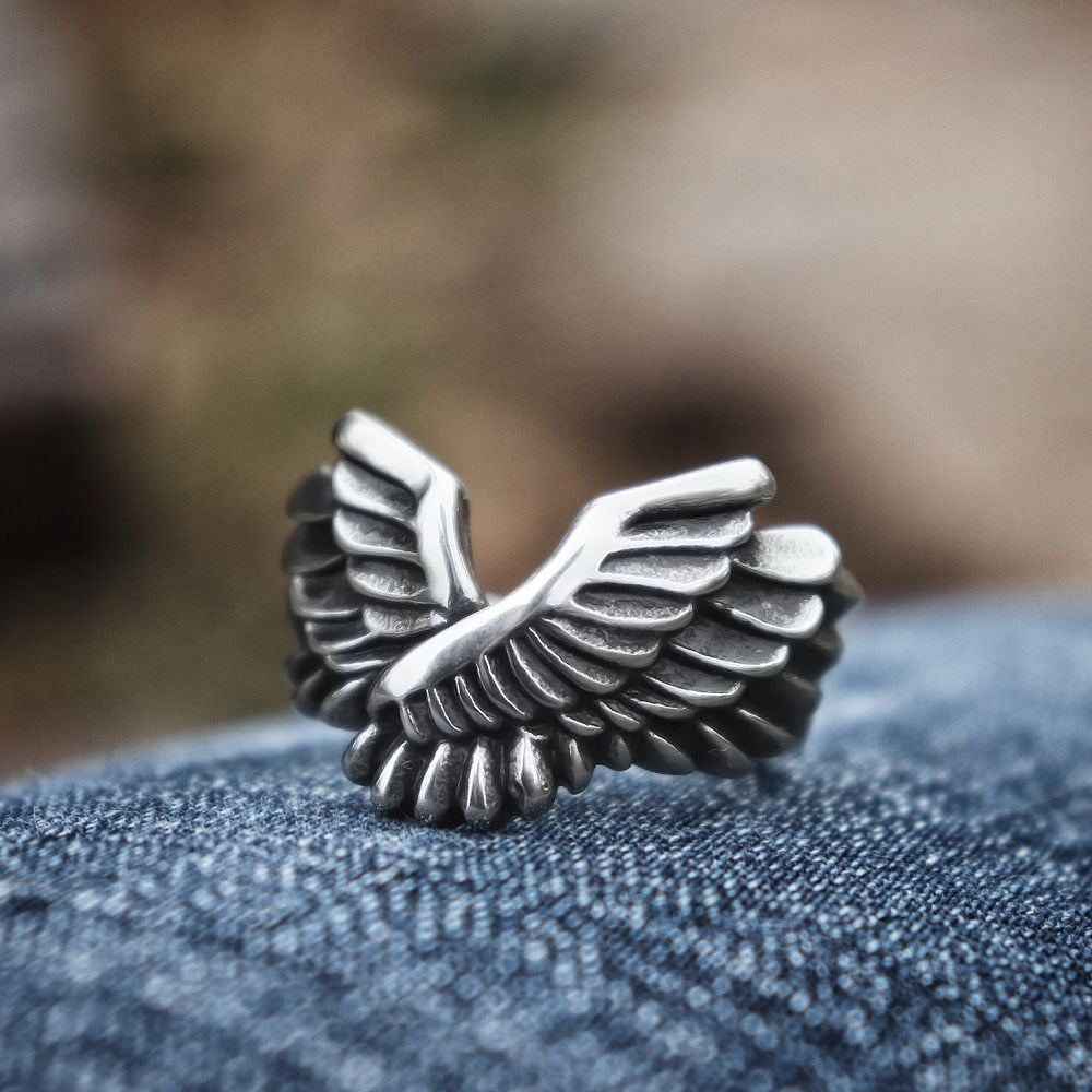 Biker Wings Ring