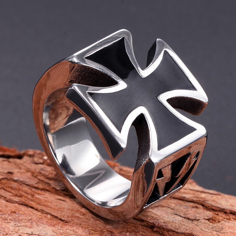 Crusader Cross Ring