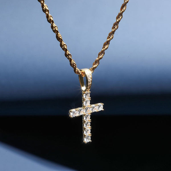 S925 Cross Pendant Necklace
