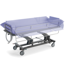 Load image into Gallery viewer, Barella Showering Trolley, mobile
