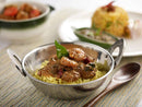 Prawn Chettinad with Lemon Rice
