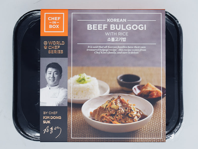 Beef Bulgogi with Rice