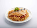 Grilled Salmon With Spaghetti In Tomato Concasse Sauce