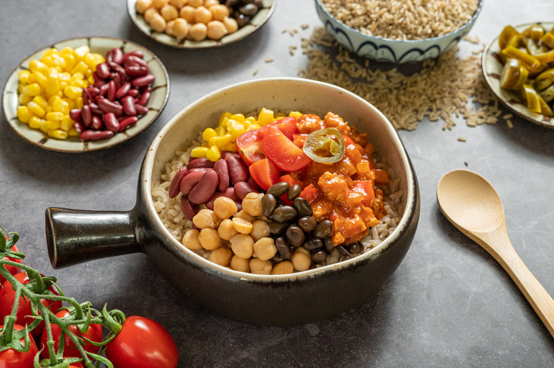 High Performance - Plant-based Mexican Burrito Bowl