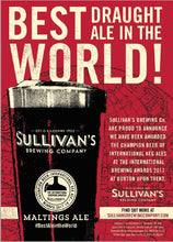 Load image into Gallery viewer, Sullivans Maltings Red Ale (Case of 24 * 440ml Cans)